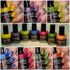 Entire Funny Fruit Collection  Swatches by Polish & Paws