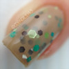 "Macro of ""Skinny Dipping""  Swatch by CDBNails"