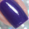 Macro of Celebrate, 3 coats with glossy top coat  by Manicured & Marvelous