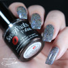 Celebrate, 3 coats with glossy top coat  By Sloppy Swatches