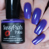 Create, 3 coats with glossy top coat. Shown w/Mini Bottle.  By Sloppy Swatches