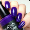 Create, 2 coats with glossy top coat.  By CDBNails