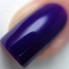 Macro of Create, 2 coats with glossy top coat.  By CDBNails