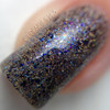 Macro of Celebrate, 3 coats with glossy top coat.  By CDBNails