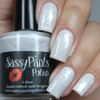 """New Fallen Snow""  3 coats plus glossy top coat Manicured & Marvelous"
