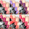 SWAK Collection w/Love Always on Top (Holographic Topper)  Swatches by CDB Nails