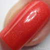 "Macro of ""Kiss Goodbye"" w/""Forever Yours"" Chameleon Shifty Shimmer Topper  Swatch by CDB Nails"