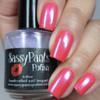 """Kiss Goodbye"" w/""Forever Yours"" Chameleon Shifty Shimmer Topper  Swatch by Manicured & Marvelous"