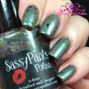 """Fall Fashionista"" over ""Jaded"" Sassy Pants Polish Debut ""Find Your Sassy!"" Collection (FALL15)"