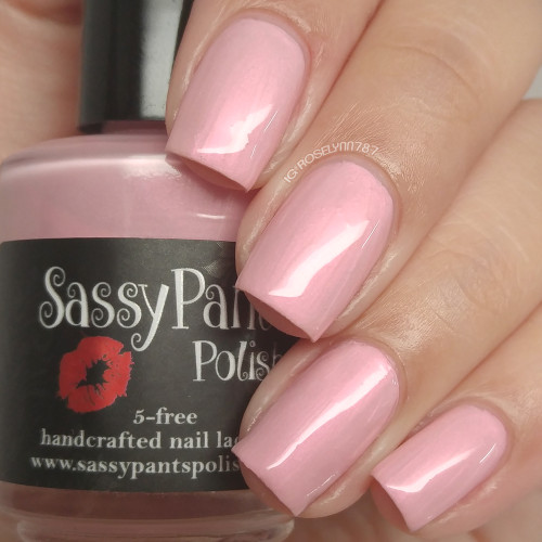 """First Kiss"" Valentines '16 ""First Crush"" Collection  Swatch by Manicured & Marvelous"