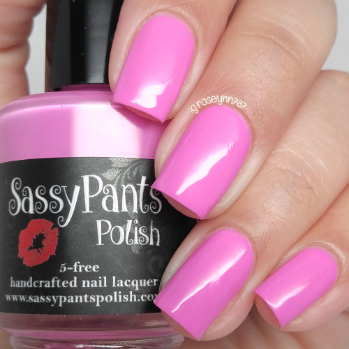 """Strawberry Sorbet"" from the Spring '16 Ice Cream Social Collection.  Two easy coats and top coat by Manicured and Marvelous."