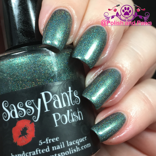 """Sassy Pants Polish Debut """"Find Your Sassy!"""" Collection (FALL15) """"Jaded"""""""