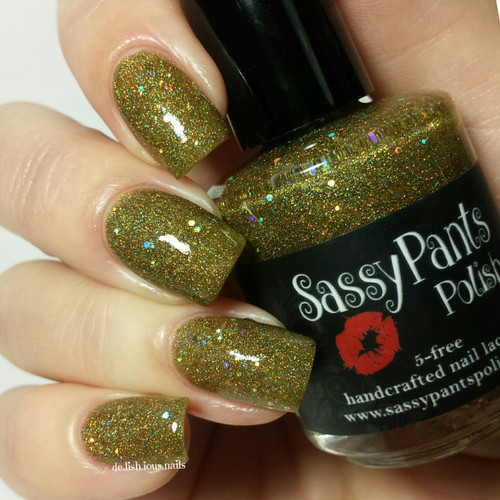 """Yellow Brick Road"" Holiday '15 ""Wizard of Oz"" Collection  Swatch by Delicious Nails"