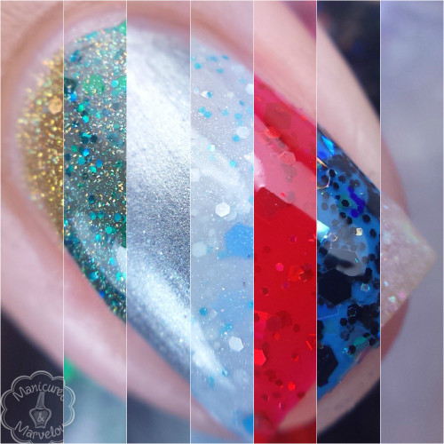"""Holiday '15 """"Wizard of Oz"""" Collection  Swatch by Manicured & Marvelous"""