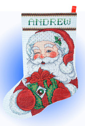 Design Works - Winking Santa Stocking