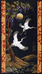 Janlynn Platinum Collection - Cranes