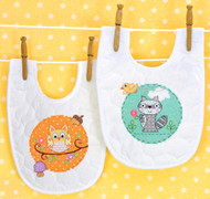 Baby Hugs - Happi Woodland Bibs
