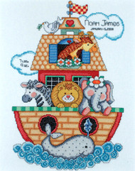 Design Works - Noah's Ark Sampler Birth Record