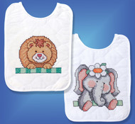 Design Works - Noah's Ark Bib Set