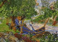 Kinkade / Disney Beauty and the Beast II Vignette