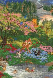 Kinkade / Disney - Bambi Vignette