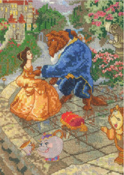 Kinkade / Disney - Beauty and the Beast Vignette