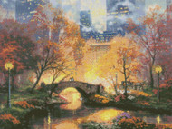 Candamar / Thomas Kinkade Central Park in the Fall