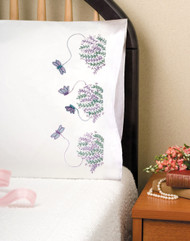 Design Works - Dragonflies Pillowcase Pair