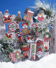 Design Works - Signs of Christmas Ornaments (18)