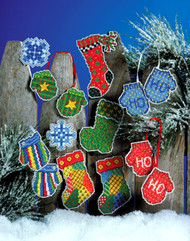 Design Works - Hats & Mittens Ornaments (10)