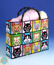 Design Works - Cat Tote Bag