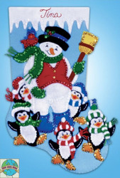 Design Works - Penguin Party Stocking