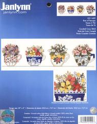 Janlynn - Row of Teacups