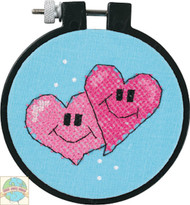 Learn a Craft for Kids - A Pair of Hearts