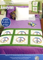Janlynn - Peace Sign Quilt Blocks