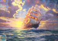 Candamar / Thomas Kinkade - Courageous Voyage