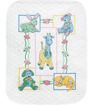Dimensions Baby Hugs - Baby's Friends Quilt