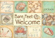 Dimensions - Bare Feet Welcome