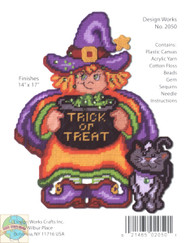 Design Works - Trick or Treat Witch Wall Decor