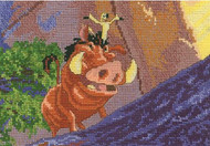 Kinkade / Disney Dreams - Pumbaa & Timon