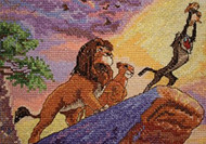 Kinkade / Disney Dreams - The Lion King