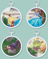 Kinkade / Disney ~ Cinderella Set of 4 Mini Kits