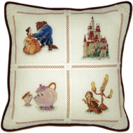 Kinkade / Disney - Beauty and the Beast Pillow