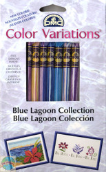 DMC - Color Variations Blue Lagoon Collection