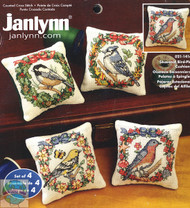Janlynn - Seasonal Bird Pin Cushions