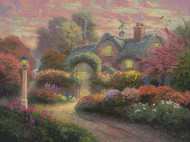 Candamar / Thomas Kinkade - Rosebud Cottage