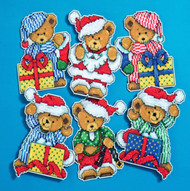 Design Works - Little Bears Ornament Set (6)