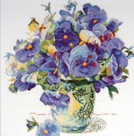 Design Works - Pansy Floral