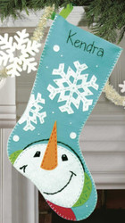 Dimensions - Catching Snowflakes Stocking