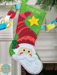 Dimensions - Santa Stocking - SALE!